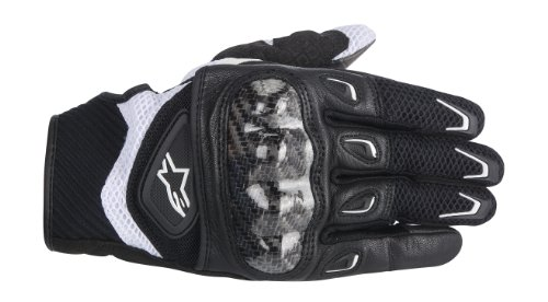 Stella ALPINESTARS SMX-2 Air Carbon Glove Textile Black/White Large