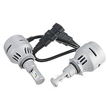 9006 HB4 9006XS Headlight Low Beam 4000LM White 6500K LED Bulb