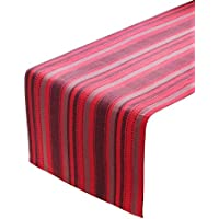Table Runners, 100% Cotton, Textured Stripe, 14 X 72