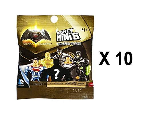 DC Comics Batman V Superman Mighty Minis Series 1 Mini Figure Blind Bags Pack of 10