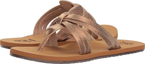 Billabong Women's Wild n Free Flat Sandal, Copper, 9 M (Ladies Womens Sport Thong Sandals)