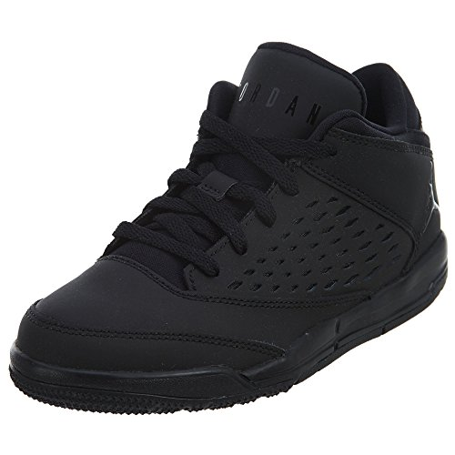 Nike JORDAN FLIGHT ORIGIN 4 BP boys fashion-sneakers 921197-010_2Y - BLACK/BLACK-BLACK by NIKE