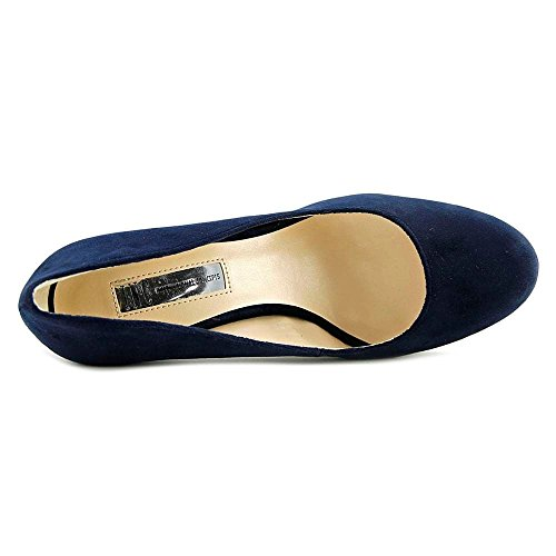 INC Blue Pumps Leather Concepts Anton Closed Midnight International Toe Platform Womens TxTrqHF