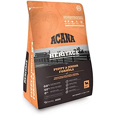 ACANA Heritage Puppy & Junior 4.5 Pounds