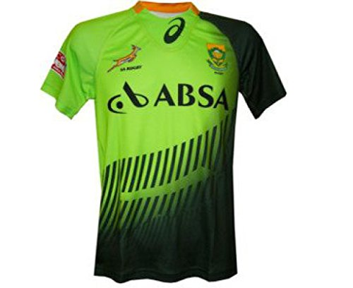 034910a2428 Springboks South Africa Rugby 7s Home Jersey: Amazon.co.uk: Clothing