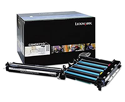 Lexmark C540X71G OEM Drum - C540 C543 C544 C546 X543 X544 X546 X548 Series Black Imaging Kit (Includes Developer & Photoconductor Unit) (30000 Yield)