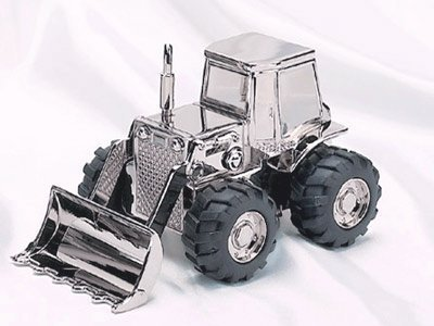 (Creative Gifts Front Loader Bank, Nickel Plated. by Creative Gifts )