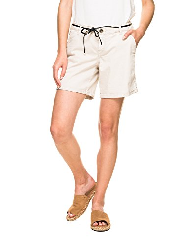 Garcia Women's Shorts Jeans Dark Beige OSFqwfO