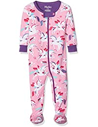 Hatley Mini Footed Coverall - Winged Unicorns