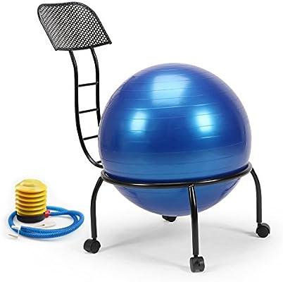 Altura Equilibrio pelota postura silla ejercicio yoga silla bola ...
