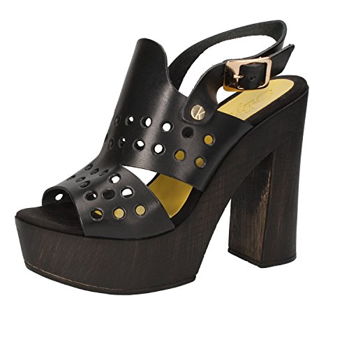 SUKY BRAND Mujer zapatos con correa negro