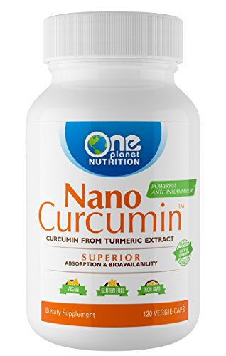 Nano Curcumin, Nano Particle Sized, Completely Absorbs, High Bioavailability, Anti-Inflammatory, Antioxidant, Better Health. 4 Months Supply