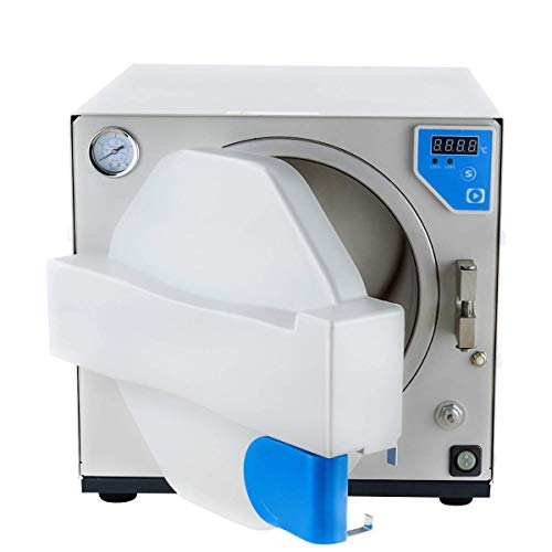 (Alkita 18L Digital Display Steam Stainless Steel Autoclave MINI320 110V)