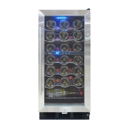Vinotemp 32-Bottle Wine Cooler with Interior Display