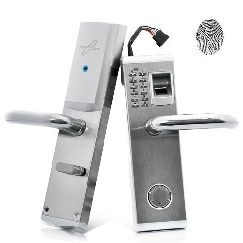 Lightinthebox 3-in-1 Biometric Fingerprint and Password Door Lock with Deadbolt (Right Handed) for Business and Home Security