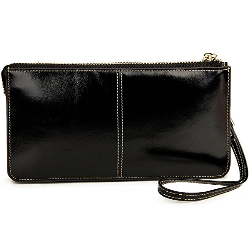 Lecxci Genuine Leather Handbags Wristlets