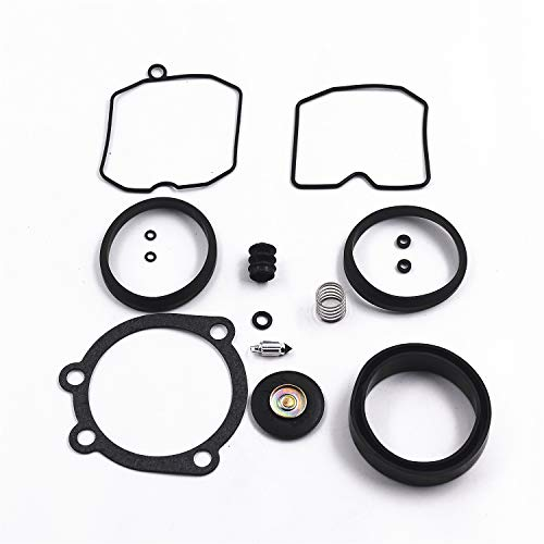 (Carbman Carburetor Rebuild Kit for CV Type 1990-Up fits XL 883 1200 )