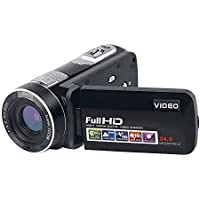 Camcorder Full HD Digital Camera Portable Mini Handheld Camcorder Digital Video Camera Camcorders With IR Night Vision 24.0 Mega pixels DV 3 LCD Screen 18X Digital Zoom