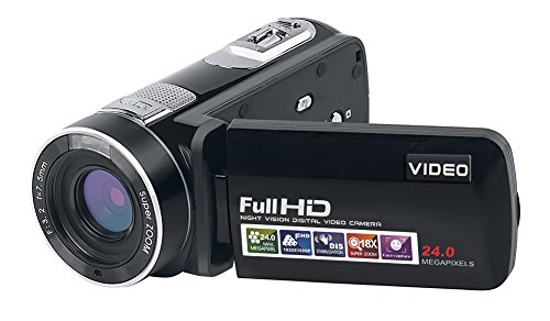 SEREE HDV-301S FHD 1080P Digital Video Camcorder Wide Angle Macro Fisheye Shooting 24MP 3 Inch...