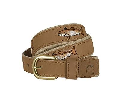 Guy Harvey Leather Redfish Belt