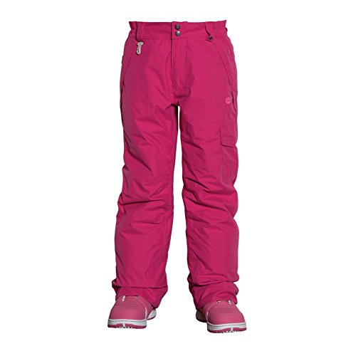 686 Girls Authentic Misty Pant, Raspberry, Large by 686