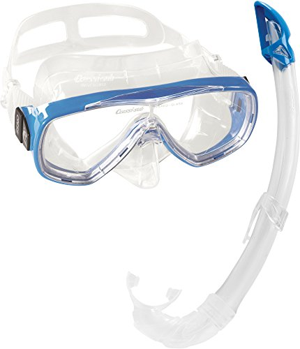 Cressi Uni Maske/Schnorchel Tauchset Schnorchelset Onda Mare, Blau, DM1010152