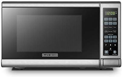 BLACK DECKER EM720CB7 Microwave Push Button product image
