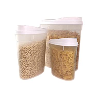Frigidaire 6 Piece Cereal and Food Storage Set