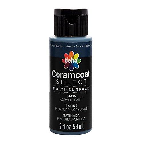 Ceramcoat Select Multi-Surface Paint 2oz, Dark Denim ()