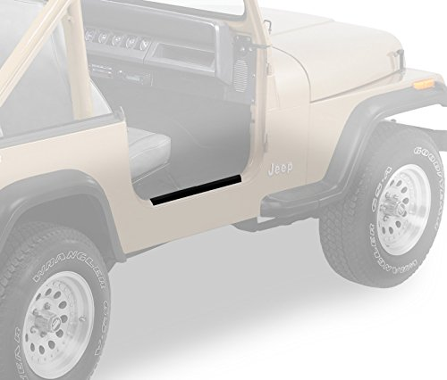 Door Sill Bestop - Bestop 51049-01 Highrock 4x4 Door Sill Entry Guards Black
