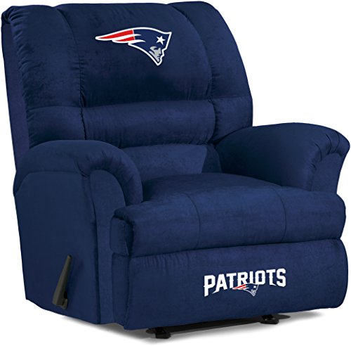 New England Patriots Recliner Patriots Leather Recliner