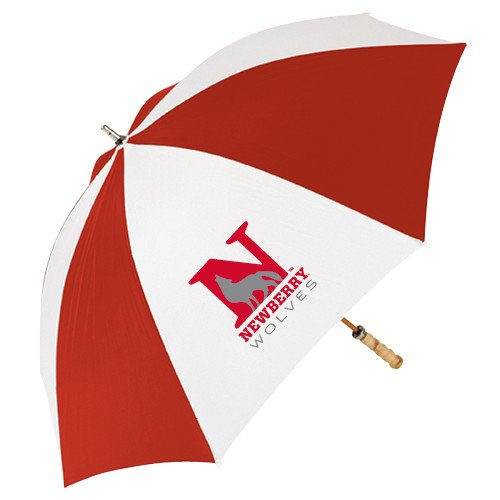 Newberry 62 Inch Red/White Vented Umbrella 'Official Logo' by CollegeFanGear