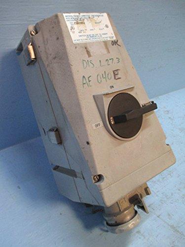 Crouse-Hinds CSR3352 Interlocked Arktite Receptacle 30 Amp 600 Vac 3 Wire 4 Pole ()