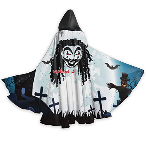 Luckyeveryday Insane Clown Posse Adult Halloween Cloak Picture Customization