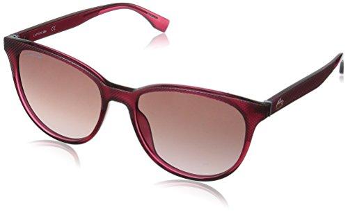 Lacoste Women's L859s Oval L.12.12 Sunglasses, FUCHSIA, 56 ()