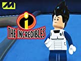 Clip: DBZ Goku and Vegeta in the LEGO Incredibles Video game!