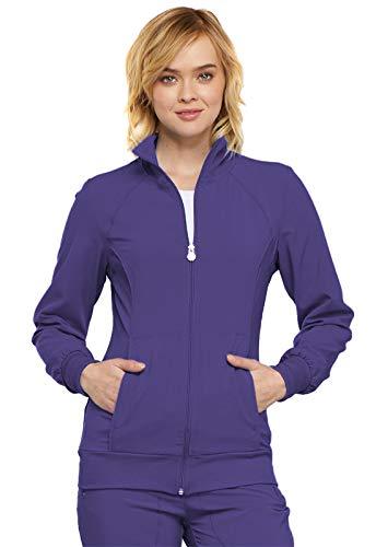 (Cherokee Infinity Women's 2391A Zip Front Warm-Up Jacket (Grape, Large))
