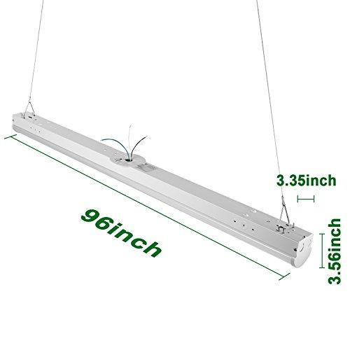 Hykolity 8' Linear LED Light Fixture Commercial Grade High