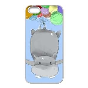 Hippo DIY Phone Case for Iphone 5,5S,Hippo custom phone case