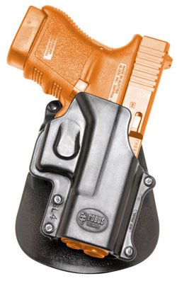 Concealed Carry Light Fobus Left Hand Hand Gun Holster Model GL-4-LH. Fits to: Glock - 29, 30, Smith & Wesson - 99, Sigma (S&W). Tactical Hard Polymer