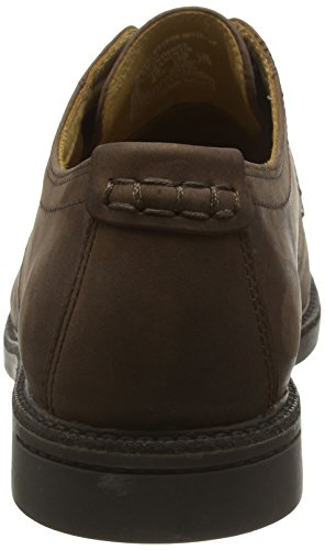 Brown Oxford Wp Marrone WP up Scarpe Turner Sebago Lace Basse Stringate Leather Uomo Dk PRw0Hq