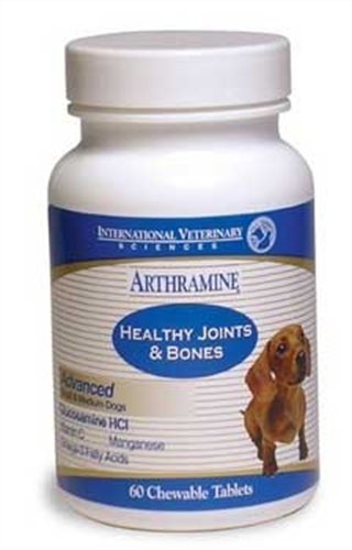 Arthramine Max Healthy Joints and Bones Chewable Tablets 60 ct, My Pet Supplies
