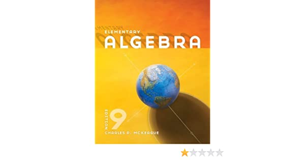 By charles p mckeague elementary algebra ninth 9th edition by charles p mckeague elementary algebra ninth 9th edition amazon books fandeluxe Images