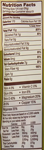 Back to Nature Nuts, Non-GMO Unsalted & Unroasted California Almonds, 9 Ounce (Pack of 9)