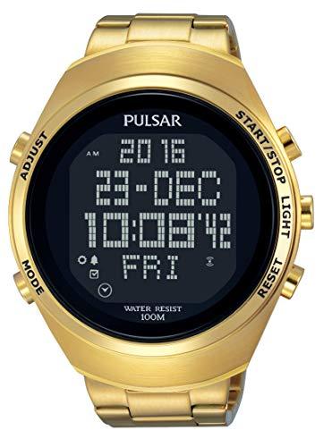 (Pulsar Pulsar X PQ2056X1 Digital watch Solid Case)