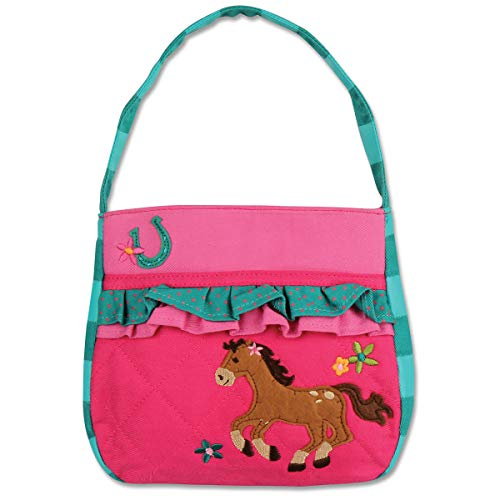 Stephen Joseph Quilted Purse, Girl Horse ()