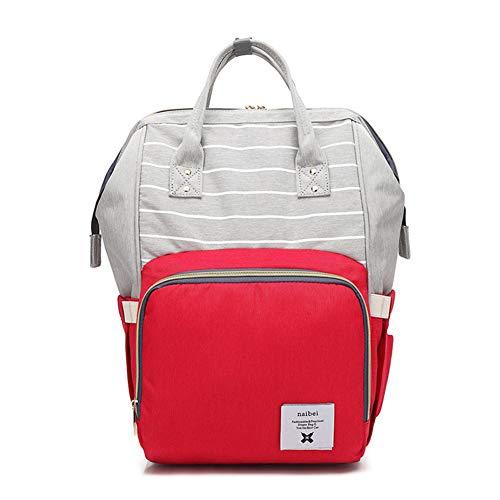 10c06be89a Impermeabile Smart Zaino Care Funzione Capacità Borsa Borsa Mummia Red  Grande Travel Bag Moda Bag Durevole ...