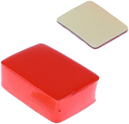 Shiwaki フロートスポンジ 粘着テープ ステッカー GoPro Hero 4 3+ 3 2用 Floaty Float Box Sponge用 - 赤, 説明したように