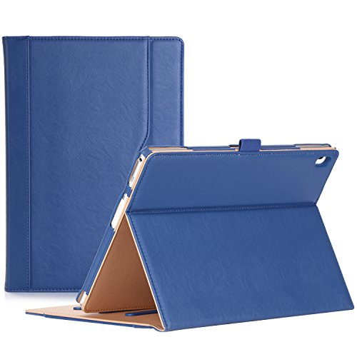 ProCase Lenovo Tab 4 10 Case - Stand Folio Case Protective Cover for Lenovo Tab 4 Tablet 10.1 Inch 2017 Release ZA2J0007US -Navy Blue
