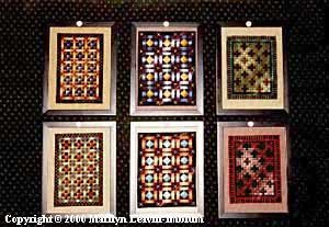 Amish Shadow Quilts Cross Stitch Chart
